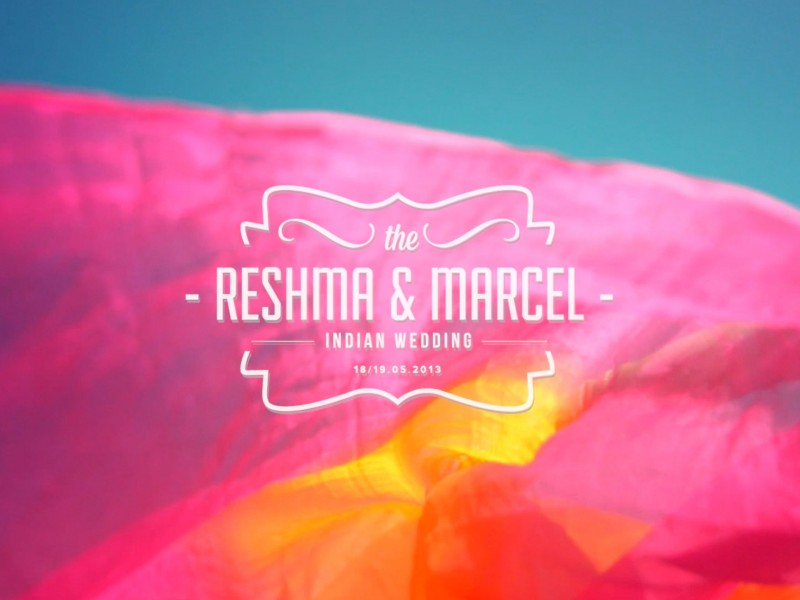 Video Reshma & Marcel Indian wedding