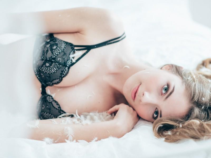 Boudoir lingerie shooting