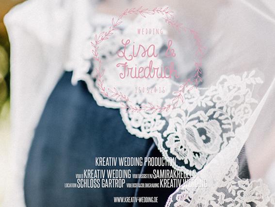 Lisa & Friedrich Schloss Gartrop Videos, Hochzeitsvideos, VideografVideoslisa