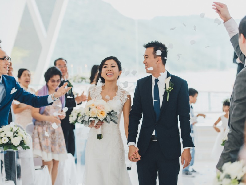 Kristy & Sam HongKong Wedding Four Saison HK