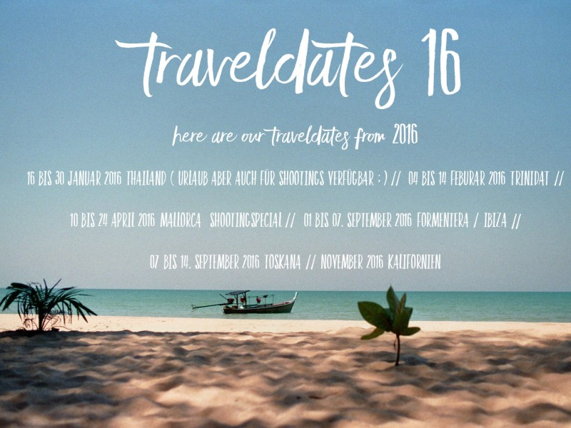 Traveldates 2016 Internationale Hochzeiten