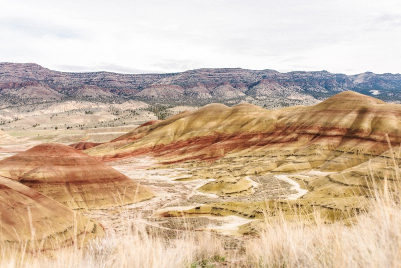 painted hills Roadtrip San Francisco - Vancouver2016 05 17 0031