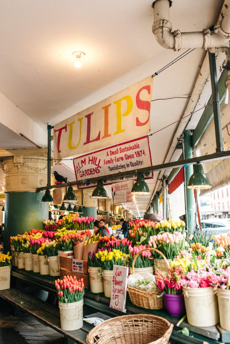 tulips public market  Roadtrip San Francisco - Vancouver2016 05 17 0039