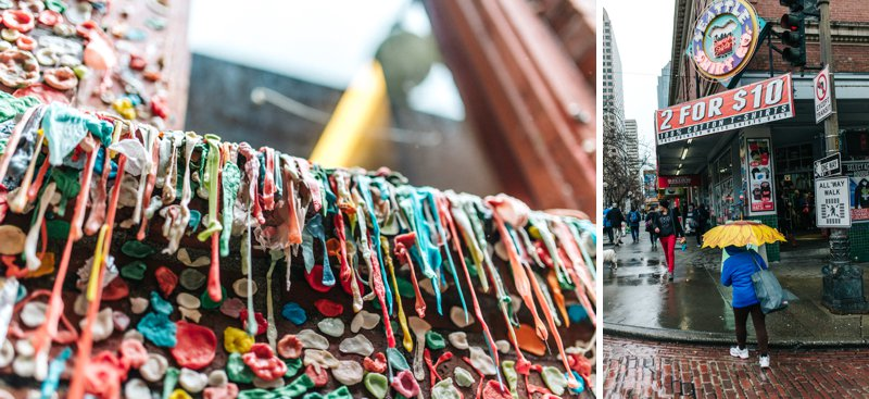 seattle gum wall Roadtrip San Francisco - Vancouver2016 05 17 0041