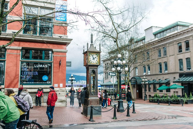 steam clock Vancouver Roadtrip San Francisco - Vancouver2016 05 17 0050