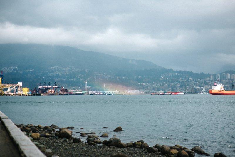 Vancouver rainbow Roadtrip San Francisco - Vancouver2016 05 17 0052
