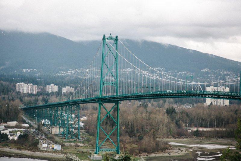 Vancouver bridge Roadtrip San Francisco - Vancouver2016 05 17 0053