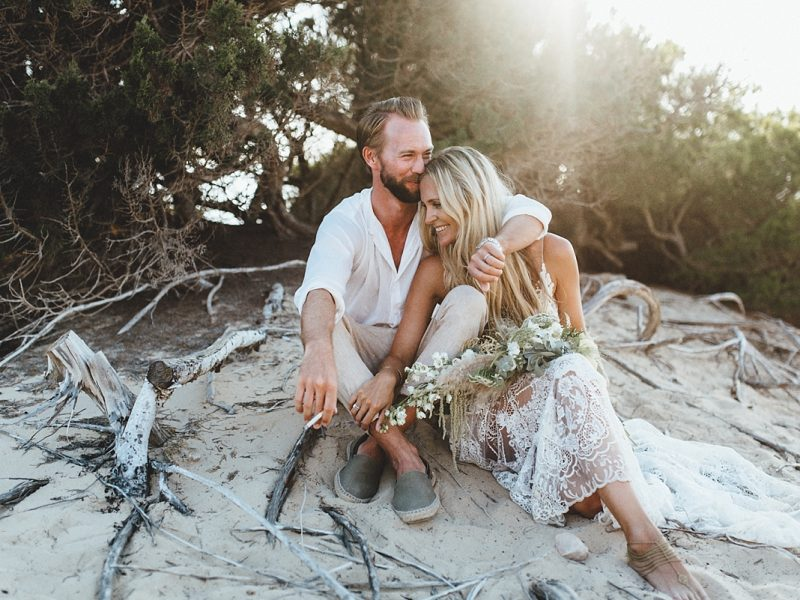Laura & Alex Bohemian Wedding Formentera