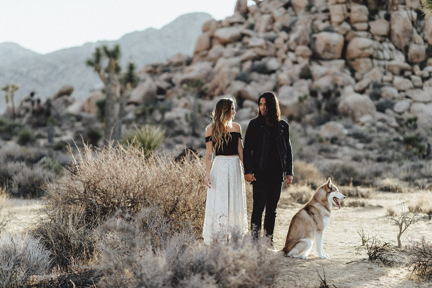 international-elopement-photographer_0164 Kinsey & Josh & Banjo Photographer in Joshuatreeinternational elopement photographer 0164