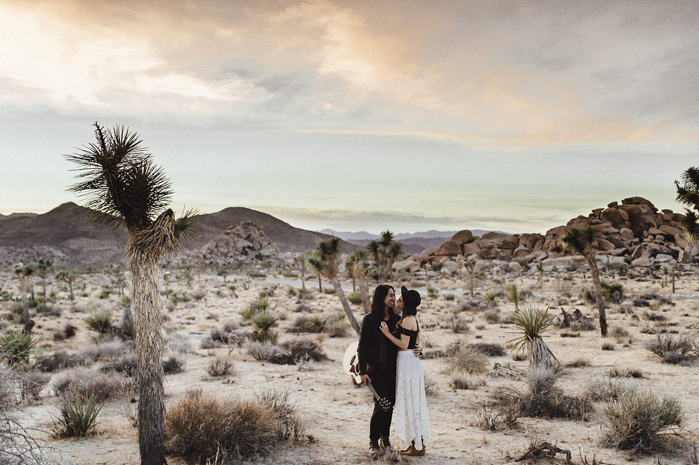 international-elopement-photographer_0207 Kinsey & Josh & Banjo Photographer in Joshuatreeinternational elopement photographer 0207