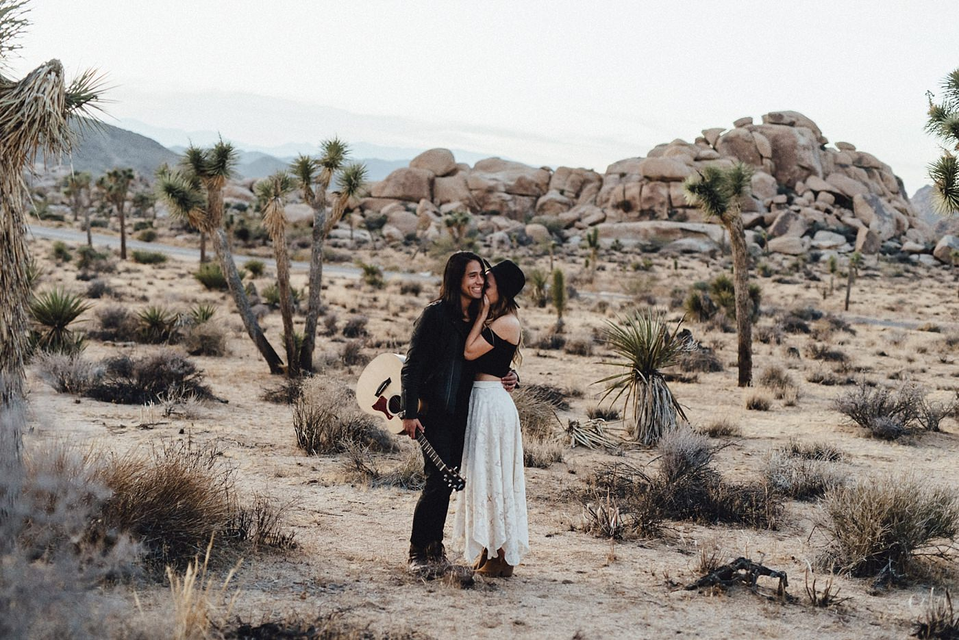 international-elopement-photographer_0208 Kinsey & Josh & Banjo Photographer in Joshuatreeinternational elopement photographer 0208